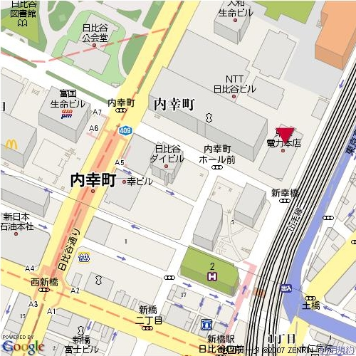 UD日比谷ビル地図